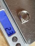 Советское колечко серебро 875 проба. Размер 17, фото №6