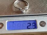 Колечко серебро 925 проба. Размер 20, фото №6