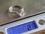 Колечко серебро 925 проба. Размер 20, фото №7