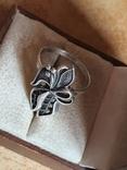 Советское колечко серебро 925 проба. Размер 18.5, фото №4