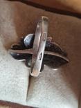 Советское колечко серебро 925 проба. Размер 18.5, фото №5