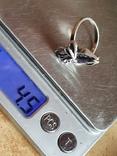 Советское колечко серебро 925 проба. Размер 18.5, фото №7