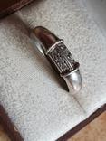 Колечко серебро 925 проба. Размер 20.5, фото №2
