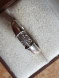 Колечко серебро 925 проба. Размер 20.5, фото №3