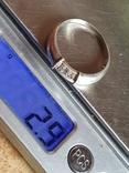 Колечко серебро 925 проба. Размер 20.5, фото №8
