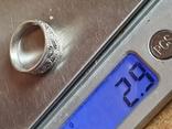 Советское колечко серебро 925 проба. СССР. Размер 16, фото №7