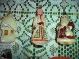 Ёлочные игрушки  СССР 7 штук, фото №3