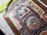 Сувенирные картины плакетки Прага Чехия новые 2 шт, фото №3