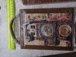 Сувенирные картины плакетки Прага Чехия новые 2 шт, фото №4