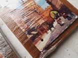 Сувенирные картины плакетки Прага Чехия новые 2 шт, фото №6