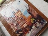 Сувенирные картины плакетки Прага Чехия новые 2 шт, фото №7