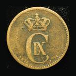 Дания 2 эре 1875, фото №3