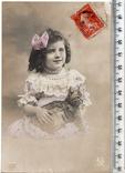 Старинная открытка. 1913 год. Дети. и.(2), фото №2