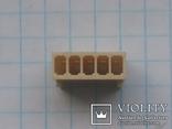 Разъем сигнальный HU-5 шаг 2,54 мама на кабель 150 шт, фото №7