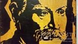 Гравюра на дереві, портрет І.Я.Франко Н29х20 см, фото №4