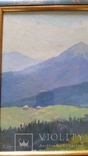 Л.Харламов Карпаты. Черногорский хребет... 9.VII.1968 30,7х46,8 см, фото №3