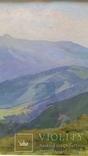 Л.Харламов Карпаты. Черногорский хребет... 9.VII.1968 30,7х46,8 см, фото №4