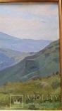 Л.Харламов Карпаты. Черногорский хребет... 9.VII.1968 30,7х46,8 см, фото №5