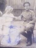 Офицер и солдат Первой Мировой с семьей старое фото, фото №6