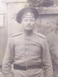 Офицер и солдат Первой Мировой с семьей старое фото, фото №9