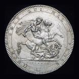 Великобритания крона 1818  серебро, фото №5