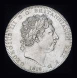 Великобритания крона 1818  серебро, фото №8