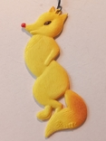 Новогодняя Игрушка Лисичка Пластмасса, фото №2