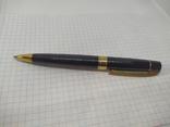 Шариковая ручка. Тяжеленькая. Длина 137мм, фото №3