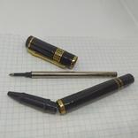 Шариковая ручка. Тяжеленькая. Длина 135мм, фото №8