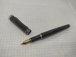 Перьевая ручка. Тяжеленькая. Длина 137мм, фото №8