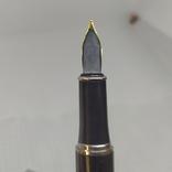 Перьевая ручка. Тяжеленькая. Длина 137мм, фото №12