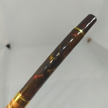 Перьевая ручка Позолота. Тяжеленькая. Длина 135мм, фото №4