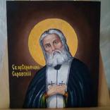 Икона Св.пр.Серафим Саровский, фото №3