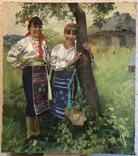 Аркадий Сорока «Подружки» 80х70, фото №2