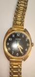 Часы wostok AU5,17 камней, браслет-позолота, фото №8