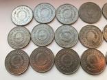 53 монеты Югославии ( 100,50,20,10,5,2), фото №4