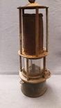 Старинная лампа шахтера. Шахтерская лампа., фото №7
