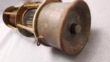 Старинная лампа шахтера. Шахтерская лампа., фото №8