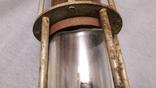 Старинная лампа шахтера. Шахтерская лампа., фото №9