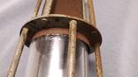 Старинная лампа шахтера. Шахтерская лампа., фото №10