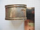 Серебро Салфетница Fabrigio необычный штапм 27,48 гр., фото №3