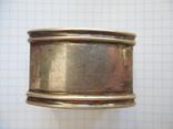 Серебро Салфетница Fabrigio необычный штапм 27,48 гр., фото №6