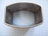 Серебро Салфетница Fabrigio необычный штапм 27,48 гр., фото №9