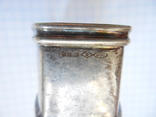 Серебро Салфетница Fabrigio необычный штапм 27,48 гр., фото №10
