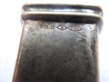 Серебро Салфетница Fabrigio необычный штапм 27,48 гр., фото №12
