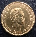 10 песо 1916 год Куба, фото №2