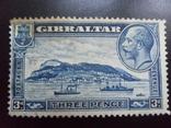 Британские колонии. Гибралтар. 1931 г. Корабли.  MH, фото №2