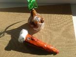 Живые Морковка и Репка из папье-маше, фото №4