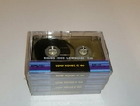 Аудиокассеты новые в заводской упаковке 4 шт, фото №2
