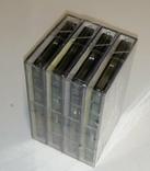 Аудиокассеты новые в заводской упаковке 4 шт, фото №6